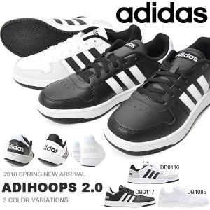 01f7376090ed3c スニーカー アディダス adidas ADIHOOPS 2.0 アディフープス メンズ レディース カジュアル シューズ 靴 2018春新作 得割20  送料無料